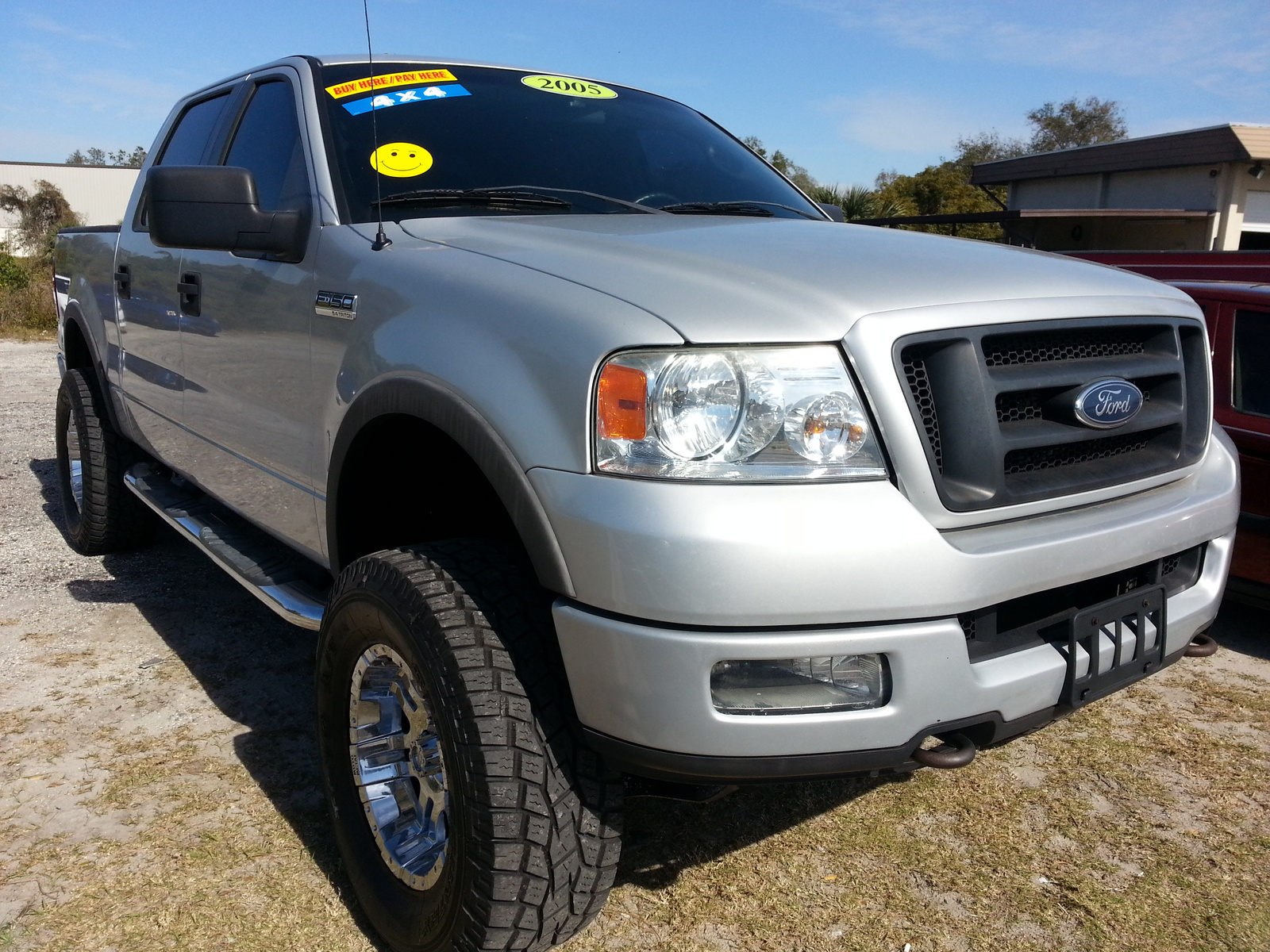 2005 Ford F150 Pickup 4WD